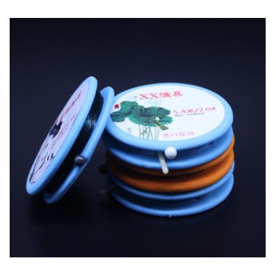 手工线组盒装竞技垂钓成品钓鱼线组方便主线组硅胶配件