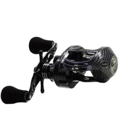 渔轮鱼线轮左/右手金属摇臂远投渔轮路亚水滴轮12+1轴磁力刹车