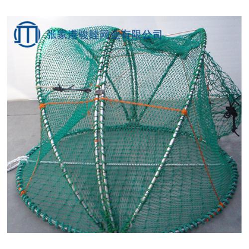 厂家直销鱼笼渔具多尺寸捕鱼鱼护支持定制鱼护铁丝笼鱼护定做