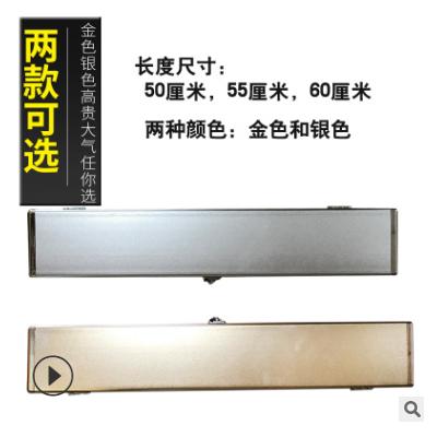 新款金属铝合金漂盒浮漂盒子线盒多功能渔具盒50cm55cm60cm钓鱼