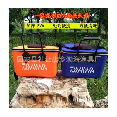 批发加厚EVA一体水桶 打水桶 活鱼桶 渔具钓鱼用品厂家直销
