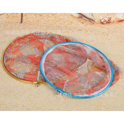 新型铝合金圈竞技抄网头纳米网布不沾网不挂鱼铝合金网头厂家直销