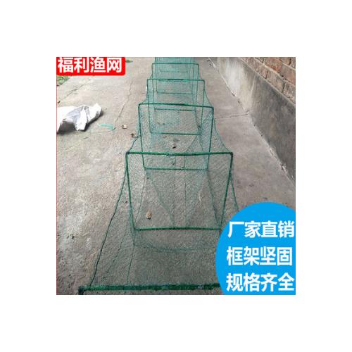 厂家热销虾篓捕鱼网 聚乙烯尼龙线渔网 有结网布 按需定做 批发